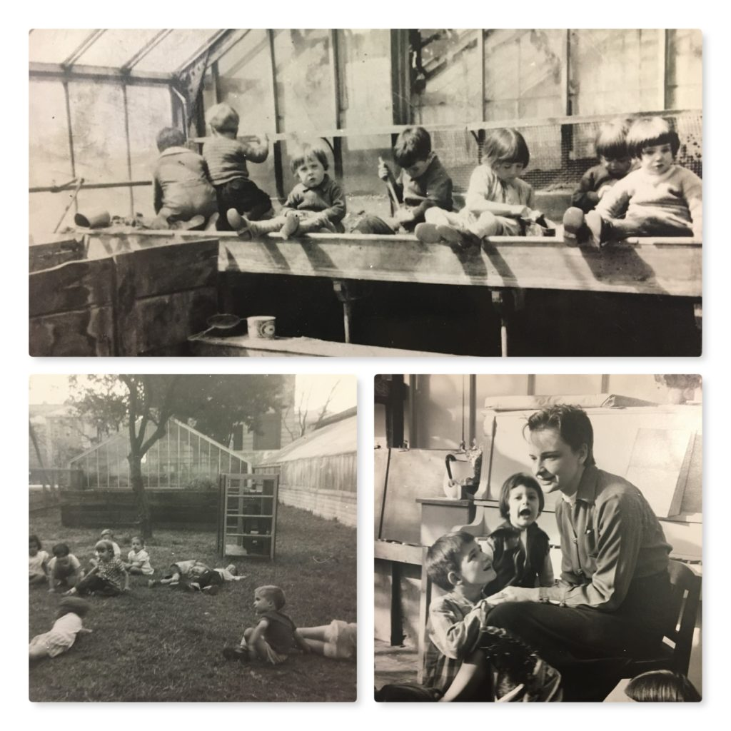 1929: Life inside the Greenhouse was filled with play